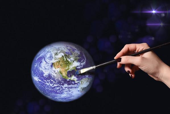 Ricreare un mondo nuovo. Salvaguardare il nostro pianeta. di BastetC