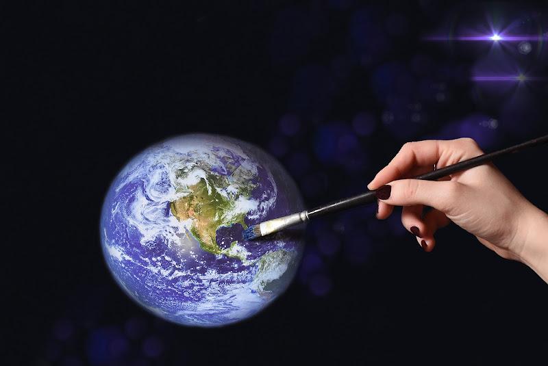 Ricreare un mondo nuovo. Salvaguardare il nostro pianeta. di BASTET-Clara