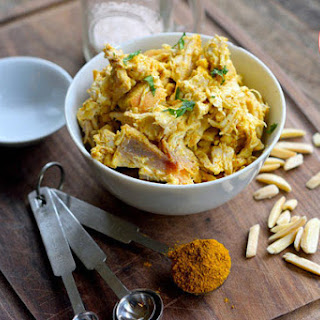Low Carb Chicken Curry Salad.