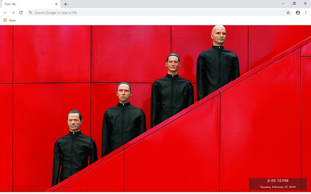 Kraftwerk New Tab & Wallpapers Collection