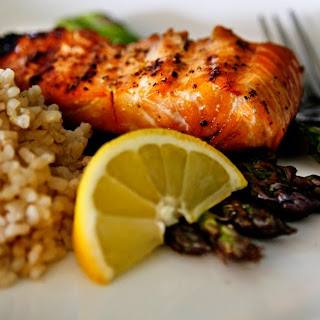 Maple Salmon on the Grill.