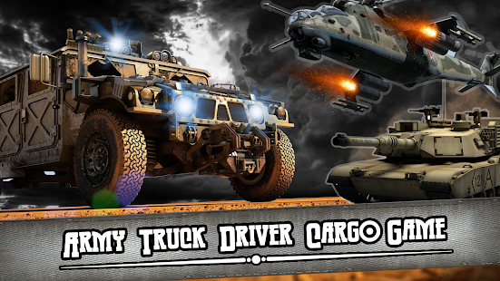 Army Truck Driver Cargo Game- screenshot thumbnail