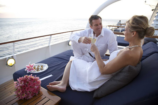 Toast to a blissful honeymoon on a SeaDream Yacht Club sailing. Here are our editors' selections of top 12 honeymoon packages.