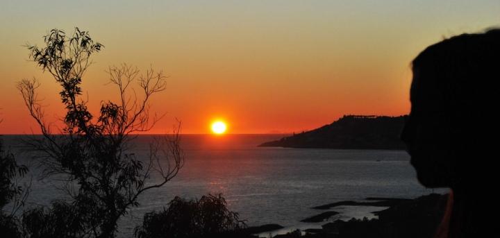 Riflessione e tramonto... di elenacastagnero
