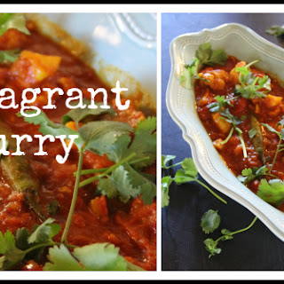 Rich & Fragrant {Spicy} Fish Curry