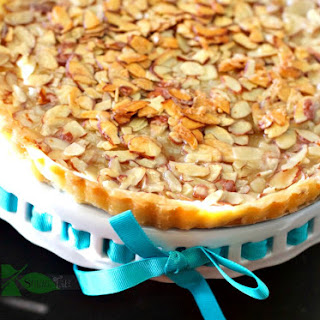 Almond Tart with Shortbread Crust