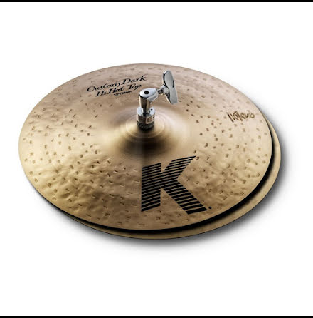 "13"" Zildjian K Custom - Dark Hats"