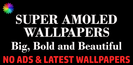 Super AMOLED Wallpapers PRO app for Android screenshot