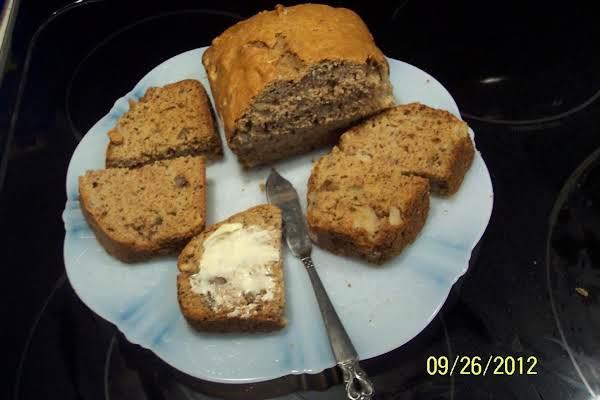Fresh  Pear&plum Batter Bread Recipe