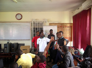 Photo: Developer class selects the winning Student developer of the day