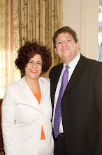 Photo: Dina Siegel Vann and AJC LA President Fredrick Levin