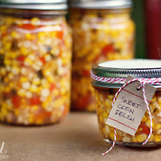 Zesty Sweet Corn Refrigerator Relish.