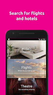 lastminute.com hotel & flights- screenshot thumbnail