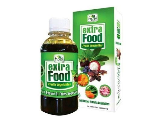 Extra Food HPAI hni ekstra ekstrafood extrafood Herba Penawar Alwahida herbal sari buah sayur anak
