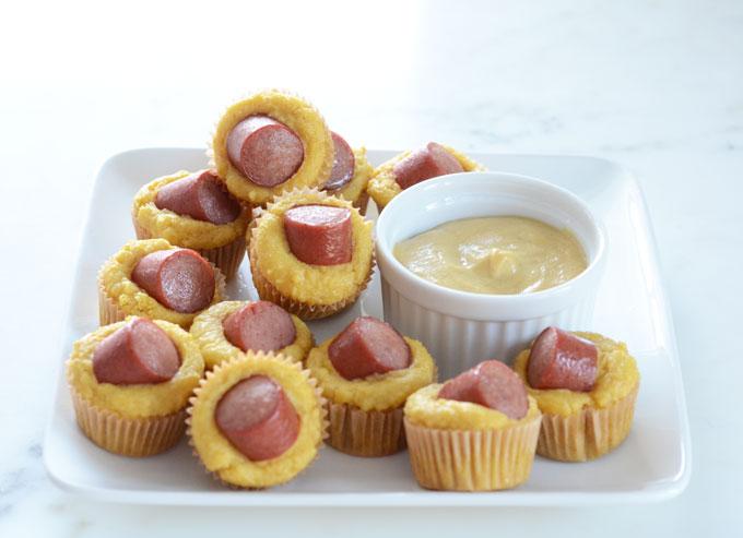 Keto Corn Dog Mini Muffins Recipe