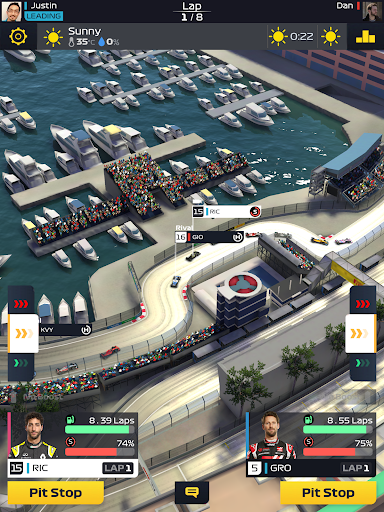 F1 Manager apkbreak screenshots 1