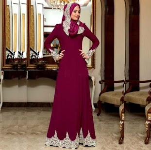 Best Party Hijab Gown - náhled