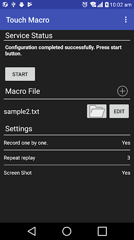 Touch Macro-Auto Touch Screenshot