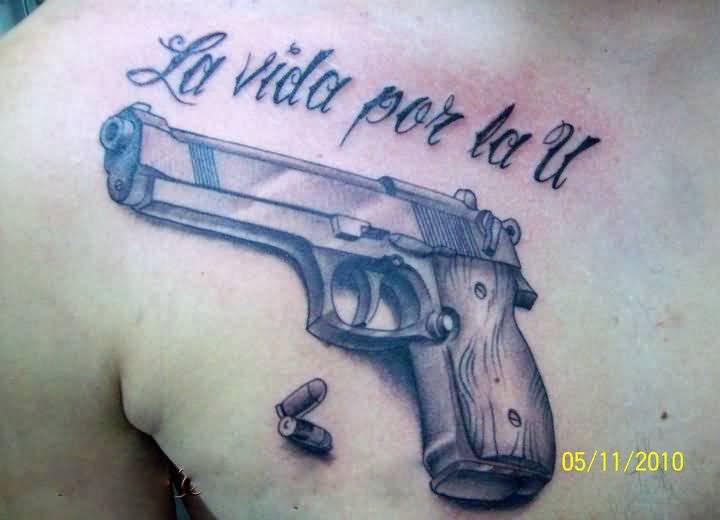 50 ลายสักกระสุนปืน เท่ห์ๆ หล่อจัด โหดจัด37
