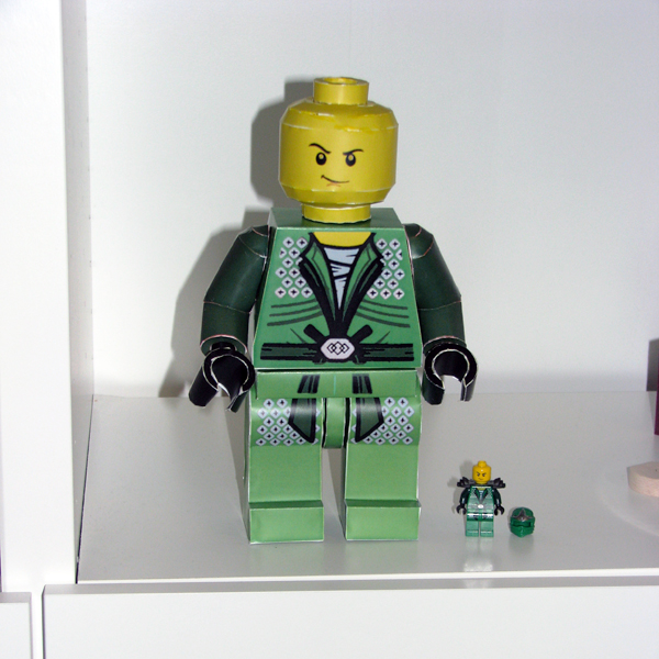 LEGO Ninjago Lloyd ZX re-paint by Balazs
