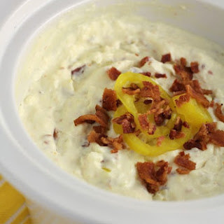 Banana Pepper and Bacon Hot Dip