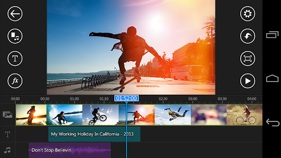 PowerDirector Video Editor App Screenshot 1