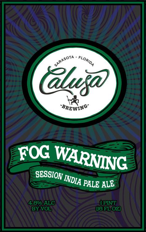 Logo of Calusa Fog Warning