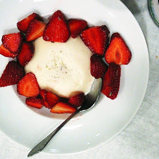 Honey Lavender Panna Cotta.