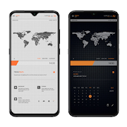 TECHDOTS Theme for KLWP