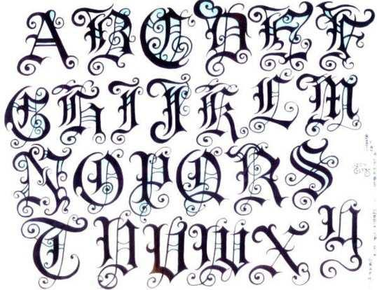 Artistic Tattoo Fonts Ideas Android Apps On Google Play