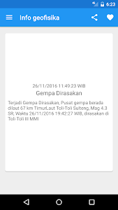 Indonesian Weather (BMKG) screenshot 6