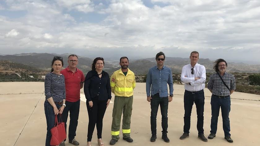 Visita al CEDEFO de Alhama de Almería.
