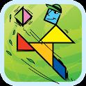 Kids Tangram Puzzles: Sports icon