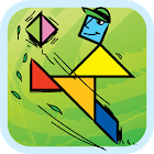 Kids Tangram Puzzles: Sports icon