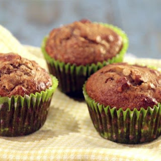 Banana, Date, and Nut Muffins.