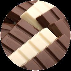 BARRINHAS DE CHOCOLATE