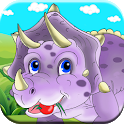 Dinosaur Puzzle Games For Toddlers Free icon