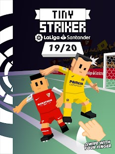 Tiny Striker La Liga - Flick Shot Game Screenshot