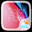 Color Flow GO Weather Widget Theme icon