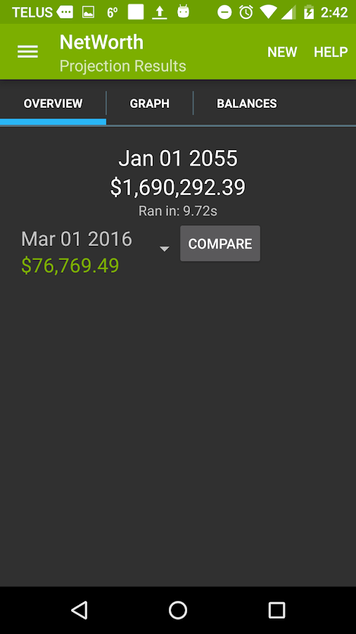 Net Worth Tracker- screenshot