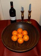 Photo: black walnut salad bowl