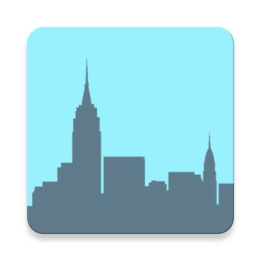 Skyscrapers Number Puzzle Icon