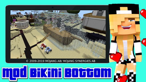 Mod bikini bottom apkmr screenshots 5