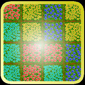 Flower Fields - Block Puzzle