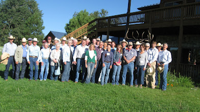 Photo: August 2010 SRM Tour participants: an audience of diverse backgrounds, all sharing a strong commitment to sustainable stewardship of range resources.