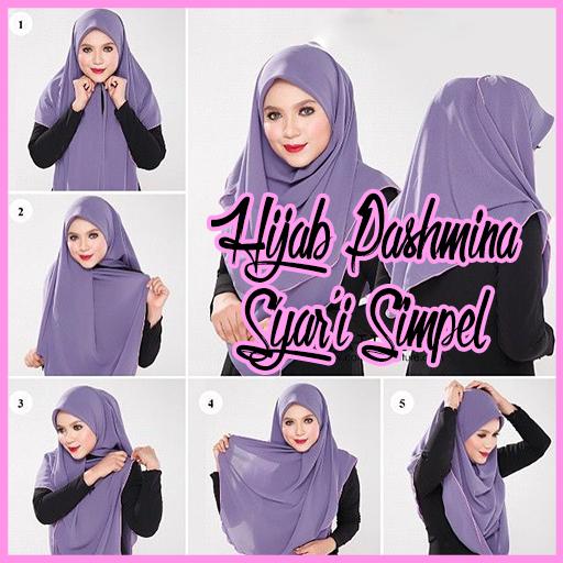 Tutorial Hijab Pashmina Syar I Simpel Android Apps Appagg