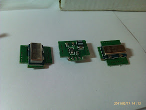 Photo: The motion sensors (gyros).
