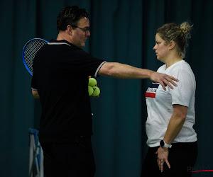 Na jarenlange samenwerking met Kim Clijsters verlaat toptrainer haar adacemie