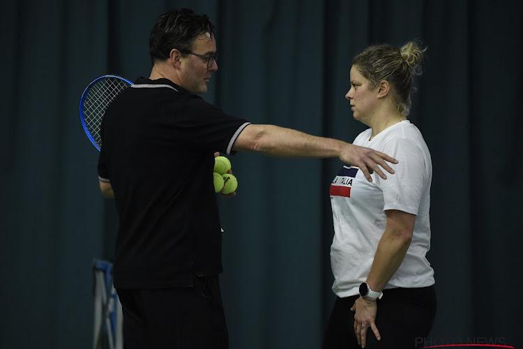 """Ex-coach: """"Was blij dat ik op een stoel zat toen Clijsters over tweede comeback vertelde"""""""