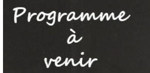 programme-coming soon